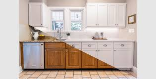 home depot refacing kitchen cabinet doors cabinet makeover at the home depot