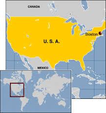 map usa states boston map usa boston major tourist attractions maps