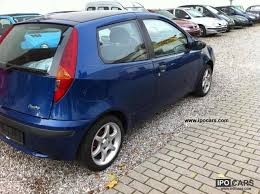Fiat Punto 2002 Interior 2002 Fiat Punto Specs And Photos Strongauto