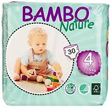 maxi size bambo nature premium baby diapers maxi size 4 30 count pack of
