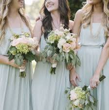 dessy wedding dresses mix and match bridesmaid dresses with celadon