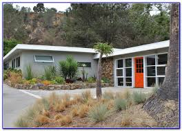 mid century modern exterior color schemes painting home design