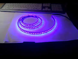flexilight led light phobya led flexilight highdensity 120cm uv 144 led youtube