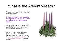 advent candle lighting order season of advent