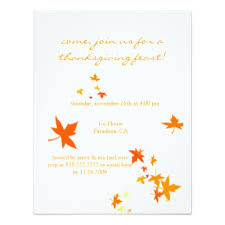 thanksgiving stationery invitations announcements zazzle
