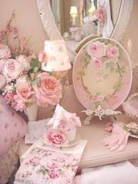 shabby chic love or just beautiful pink roses pink