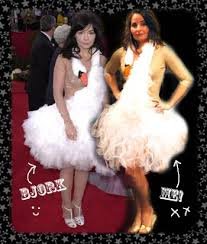 swan dress the magpie s nest new year and the bjork swan dress