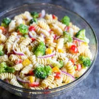 cold pasta salad dressing easy cold pasta salad recipe culinary hill