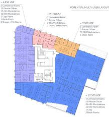 Class A Floor Plans by Office Floor Plans U2015 Downtown Durham Nc U2014 One City Center