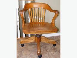 Krug Furniture Kitchener Krug Office Chair Vintage Solid Oak H Swivel Rural