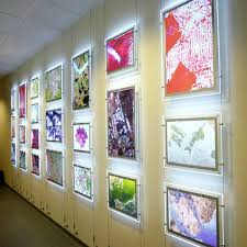 led picture frame light lighting ideas modern wall lights with square shade led sconces