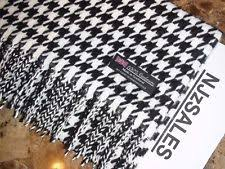 houndstooth scarf clothing shoes u0026 accessories ebay