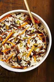 wild rice thanksgiving side dish wild rice with pepitas recipe how to make wild rice with pepitas