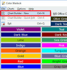 free color chart maker software with color picker copy hex color