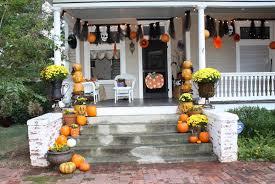 halloween decor home diy front porch halloween decor home design ideas