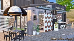 sims4 container coffee shop ruby u0027s home design u2026 pinteres u2026