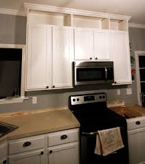 Crown Moulding Above Kitchen Cabinets How To Extend Kitchen Cabinets To The Ceiling U2022 Charleston Crafted