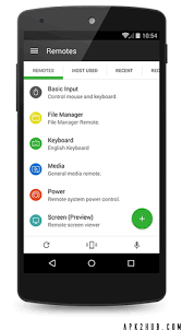 unified remote apk unified remote v3 8 0 mod android apk apk2hub