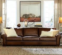 Distressed Leather Sofa Brown Leather Sofa Brown Leather Sofa Living Room Design Brown Leather