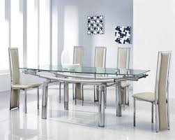 Glass Dining Table For 6 Dining Table With 6 Chairs Mesmerizing Glass Dining Table And 6
