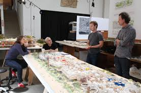 Facebook Office Design by Collisions At Work Mr Gehry U0027s Social Office Deviating From
