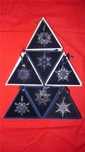 swarovski 1999 swarovski snowflake ornament 1999