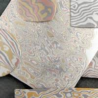 pattern welding gold mokume gane wikipedia