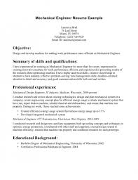 Quality Assurance Engineer Resume Sample by The Awesome Graduate Mechanical Engineer Resume Sample Resume