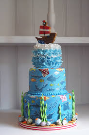 check out the latest bespoke cake we made for an u0027under the sea