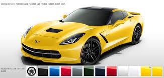 2014 corvette colors corvette c7 colors c7 corvette stingray forum