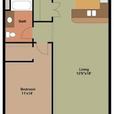 1 bedroom garage apartment floor plans hallkeen woodland apartments bedroom bath floor plan andrea outloud