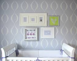 baby wall stencils for nursery the best bedroom inspiration