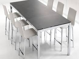table de cuisine en bois avec rallonge table de cuisine avec rallonge rectangulaire en bois et m tal