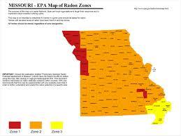 Radon Zone Map Find A Professional Radon Contractor In Missouri Radonaway
