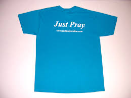 california blue just pray