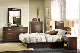South Shore Back Bay Queen Platform  Piece Bedroom Set By OJ - 7 piece bedroom furniture sets