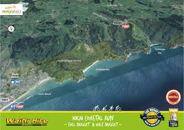 Map Your Run The Nugget Multisport Festival Waihi