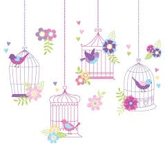 bird cage themed party planning ideas supplies baby bridal birdcage nursery wall decals