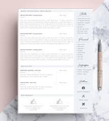 43 best cv images on pinterest resume cv cv template and resume