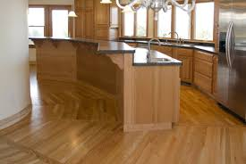 dark wood floors with kitchen awesome home design