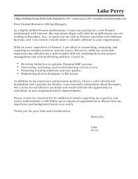 cover letter templates accounting finance cover letter exles templates livecareer