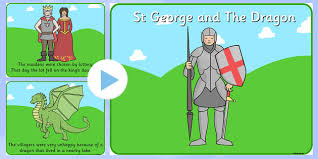 george s day story powerpoint story powerpoint st george