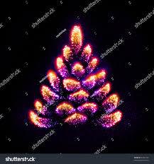 stars gathered into form weird christmas stock illustration