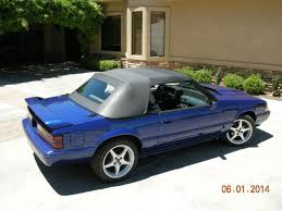 1993 mustang lx 5 0 1989 ford mustang lx 5 0 convertible sonic blue interior
