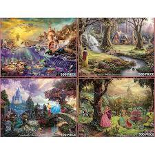 your wdw store disney puzzle kinkade princesses 4