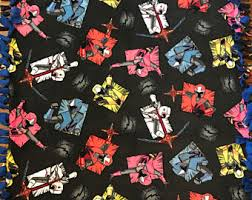 power rangers wrapping paper power rangers tie etsy