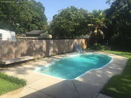 new price completely updated fiberglass pool high and dry