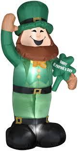 airblown st s day leprechaun yard inflatables