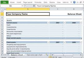 Excel Balance Sheet Template by Editable Sle Balance Sheet For Excel