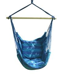 Patio Chair Swing Hammock Hanging Rope Chair Porch Swing Seat Patio Camping Portable